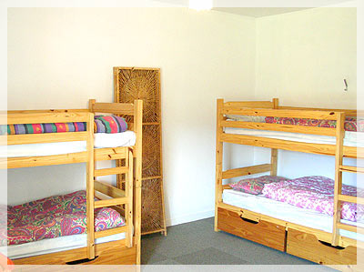 Bunk beds at Flora Macdonald Hostel